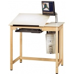 Shain Deluxe Drawing Table System: No Drawers