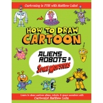 General's® How To Draw Cartoon Aliens Robots & Space Monsters Book: Book, Drawing, (model G699B6), price per each