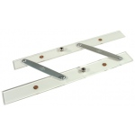 "Alvin® 12"" Folding Parallel Rule: Clear, 12"", Parallel Rules, (model A1500-12), price per each"