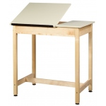 "Shain 37""h Two-Piece Drawing Table (no Drawer)"