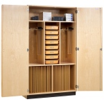 MAPLE CABINET 60W x 22D x 84H