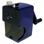 Alvin® Auto-Feed Pencil Sharpener: Blue, One, Plastic, Manual, (model B22), price per each
