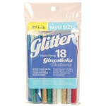 "Ad Tech™ MultiTemp 4"" Mini Glitter Glue Sticks: 4"", Permanent, (model AT313-3418), price per pack"