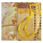 "Blue Hills Studio™ Treasure Chest™ Paper Collection Embellishment Pack Golden Topaz: Yellow, Paper, 12"" x 12"", Dimensional"