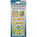 "Blue Hills Studio™ Irene's Garden™ Wings'n'Things Epoxy Stickers Wish: Multi, 2 1/2"" x 5"", Dimensional"