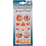 Blue Hills Studio™ Irene's Garden™ Wings'n'Things Epoxy Stickers