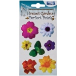 "Blue Hills Studio™ Irene's Garden™ Perfect Petals Stickers Mix A: Multi, 3 1/8"" x 4 3/4"", Dimensional, (model BHS007), price per each"