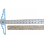 "Fairgate® Cork Backed Standard T-Square 24"": Aluminum, 24"", T-Square, (model CBT24), price per each"