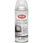 Krylon® Low Odor Spray Glue: 11 oz, Permanent, (model K7012), price per each