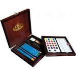 Royal & Langnickel® Premier Watercolor Pencil Set: Multi, Watercolor, (model RSET-WPEN1600), price per set