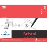 "Canson® Foundation Series 19"" x 24"" Foundation Bristol Sheet Pad: Fold Over, White/Ivory, Pad, 15 Sheets, 19"" x 24"", Smooth, (model C100511016), price per 15 Sheets pad"