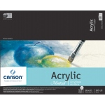 "Canson® Montval® 16"" x 20"" Acrylic Sheet Pad: Fold Over, White/Ivory, Pad, 10 Sheets, 16"" x 20"", Acrylic, (model C100511037), price per 10 Sheets pad"