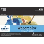 "Canson® Montval® Artist Series 10"" x 15"" Cold Press Watercolor Pad (Fold Over): Fold Over, White/Ivory, Pad, 12 Sheets, 10"" x 15"", Cold Press, (model C100511052), price per 12 Sheets pad"