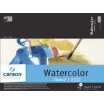 "Canson® Montval® Artist Series 18"" x 24"" Cold Press Watercolor Pad (Fold Over): Fold Over, White/Ivory, Pad, 12 Sheets, 18"" x 24"", Cold Press"