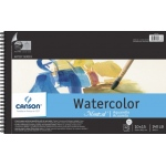"Canson® Montval® Artist Series 10"" x 15"" Cold Press Watercolor Pad (Top Wire): Wire Bound, White/Ivory, Pad, 12 Sheets, 10"" x 15"", Cold Press"