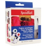 Speedball® Fabric & Paper Block Printing Ink 6-Color Set: Multi, Tube, Oil-Based, 2.5 oz, (model H3479), price per set