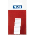 Milan® Battery Powered Eraser White Refills: Rubber, 12-Box, Eraser Refill