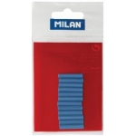 Milan® Battery Powered Eraser Blue Refills: Rubber, 12-Box, Eraser Refill