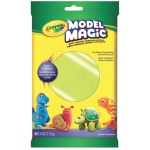 Crayola® Model Magic® Single Pack 4oz Neon Green: Green, Clay, 4 oz, Modeling Clay, (model 57-0095), price per each
