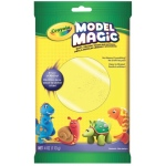 Crayola® Model Magic® Single Pack 4oz Neon Yellow: Yellow, Clay, 4 oz, Modeling Clay, (model 57-0096), price per each