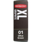 Derwent XL Olive Green (01) Graphite Block: Green, Drawing Lead, (model 2302017), price per each