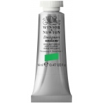 Winsor & Newton™ Designers' Gouache Color 14ml Brilliant Green: Green, Tube, 14 ml, Gouache