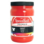 Speedball® Fabric Screen Printing Ink Red : Red/Pink, Jar, Fabric, 32 oz, Screen Printing
