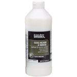 Liquitex® Gloss Medium and Varnish 32oz: Bottle, 32 oz, Varnish, (model 5032), price per each
