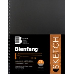 "Bienfang® 9 x 12 Hardcover Sketchbook: Wire Bound, Book, 75 Sheets, 9"" x 12"", 70 lb"