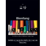 "Bienfang® 9"" x 12"" Tracing Paper Pad: Pad, 50 Sheets, 9"" x 12"", Fine, Smooth, Tracing, 24 lb, (model 243123), price per 50 Sheets pad"