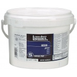 Liquitex® White Gesso 64oz: White/Ivory, 64 oz, Acrylic Painting, Gesso, (model 5334), price per each