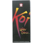 Koi™ Watercolor Paint 12-Color Set: Multi, Tube, 12 ml, Watercolor