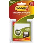 Command™ White Medium Hanging Strips Value Pack: White/Ivory, Picture Hanging Strips, (model 17204), price per pack