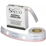 "Safco® MasterFile Polyester Strips 2L""w x 217'l: White/Ivory, Polyester, 2 1/2"" x 216', (model 6552), price per each"