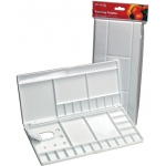 Reeves™ Large Folding Plastic Palette: Plastic, Large, (model 8490528), price per each