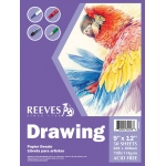 "Reeves™ 9 x 12 Drawing Pad: Pad, 9"" x 12"", 70 lb, (model 8490533), price per pad"