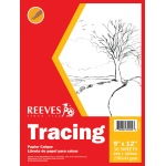 "Reeves™ 9 x 12 Tracing Pad: Pad, 50 Sheets, 9"" x 12"", 25 lb"