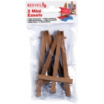 "Reeves™ Mini Easels in Poly Bag: Wood, 4 3/4"", Display, (model 8640939), price per each"