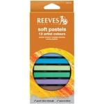 Reeves™ Soft Pastels 12-Color Set: Multi, Stick, Soft, (model 8790125), price per set