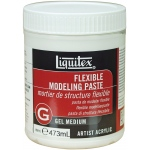 Liquitex® Flexible Modeling Paste 16oz: 16 oz, Texture