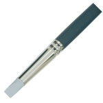 Colour Shaper® Grey Tip Flat Chisel Brush #16: Silicone, Flat Chisel, Firm