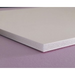 "Elmer's® 24"" x 36"" x 3/16"" Thick Foam Board White 25bx: White/Ivory, Sheet, 25 Sheets, 24"" x 36"", Foam Board, 23 lb, (model 90105), price per 25 Sheets box"