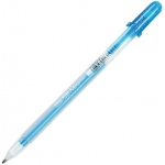 Gelly Roll® Blue Metallic Gel Pen: Blue, Metallic, Gel, 1mm, (model 38922), price per each