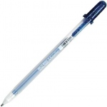 Gelly Roll® Blue Black Metallic Gel Pen: Blue, Metallic, Gel, 1mm, (model 38926), price per each