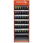 Reeves 75ml Acrylic Paint Color Display Assortment
