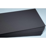 "Elmer's® 20"" x 30"" x 1/2"" Thick Foam Board Black 10bx: Black/Gray, Sheet, 10 Sheets, 20"" x 30"", Foam Board, (model 95300), price per 10 Sheets box"