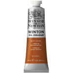 Winsor & Newton™ Winton Oil Color 37ml Burnt Sienna: Brown, Red/Pink, Tube, 37 ml, Oil