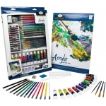 Royal & Langnickel® Essentials™ Deluxe Acrylic Mixed Media Art Set: Multi, Tube, 12 ml, Acrylic, (model RD854), price per set