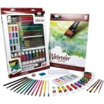 Royal & Langnickel® Essentials™ Deluxe Watercolor Mixed Media Art Set: Multi, Tube, 12 ml, Watercolor, (model RD855), price per set