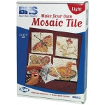 Blue Hills Studio™ Make Your Own Mosaic Tile - Light: Multi, Stone (Cuttable), Tile, (model BHS513), price per set